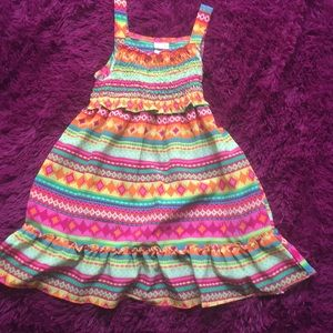 Sweet Heart Rose tribal print dress